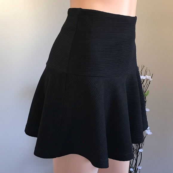 Clockhouse Dresses & Skirts - 🌺 Flared black skirt with zipper and lined🌺